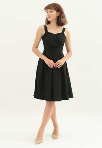 Love Knot black Jasmine Skater Dress (Black) 2A2A8AA7020548GS_1