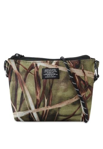 RAGEBLUE green Woven Crossbody Bag 3A55AAC34A140BGS_1
