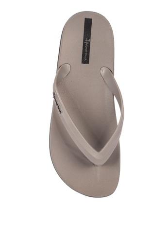 Ipanema black and grey Anatomic Lapa Ad Flip Flops 2C917SH6172EECGS_1