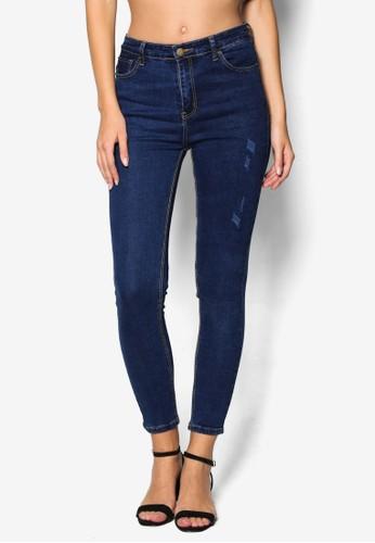 Lightlyzalora taiwan 時尚購物網 Distressed Skinny Jeans, 服飾, 牛仔褲