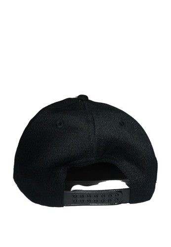 Jual Rumah Topi SNAPBACK 5 PANEL BLACK Original  00116a970d