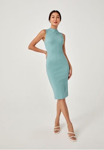Love, Bonito green Azalea Bodycon Dress 4C9FEAA50D419DGS_1
