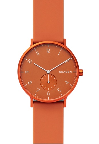 Skagen orange Aaren Kulor Watch SKW6511 61C85ACF9A3C5BGS_1