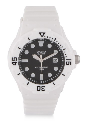 Casio black Unisex Analog Watches LRW-200H-1EVDF 28485AC7A82EEFGS_1