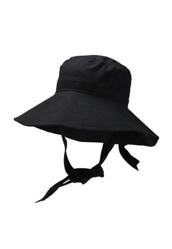 Vero Moda black Nawal Bucket Hat 9FFE3AC1AE8A68GS_1