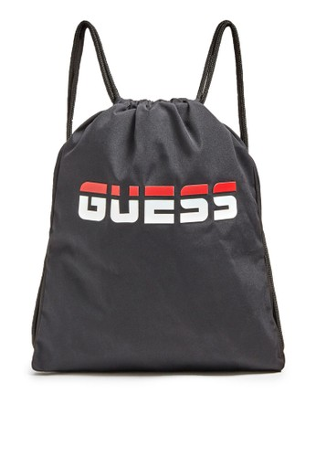 GUESS black and grey Logo Backpack E8F1DAC351E599GS_1