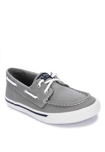 Sperry grey Bahama Boat Shoes E191EKS710736FGS_1