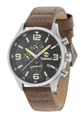 Timberland brown Timberland Rutherford Multifinction Gents Watch TBL.15266JS/02 TI063AC0SI4RMY_1