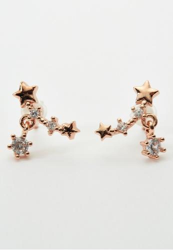 6IXTY8IGHT gold Ember, Stars Earrings AC03311 DF454ACD2E4DE9GS_1