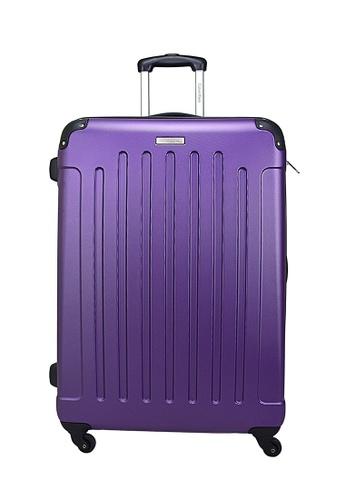 Calvin Klein purple Calvin Klein Littleton - 24 inch Hard Case Luggage 868D4AC61E9389GS_1