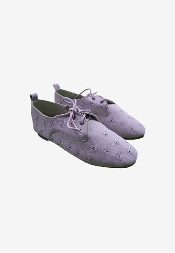 HERAPOSH pink Shape Motif Loafers A1F4BSH1C38408GS_1