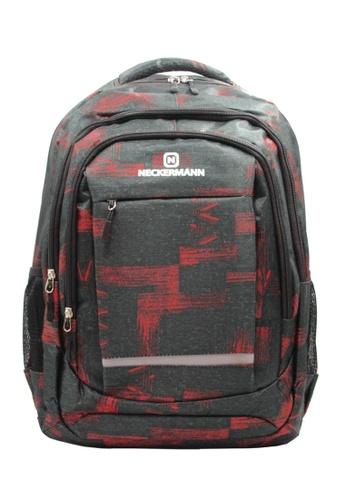Neckermann black and red Neckermann Backpack Series 0128 E34A2ACC7B7F61GS_1