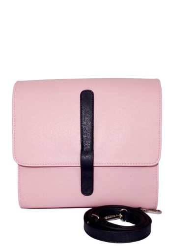 Louiebelle Collection pink Marckie Satchel Bag LO122AC84PHBPH_1