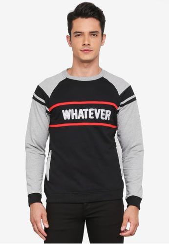 Marc & Giselle black Long Sleeve Sweater 8F2CBAA77916F7GS_1