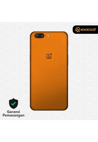 Exacoat OnePlus 5 3M Skins True Colors - Pumpkin Orange BF334ES986AA9CGS_1