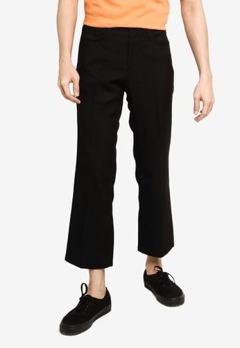 GLOBAL WORK black Casual Woven Pants B149CAAFC68AC7GS_1
