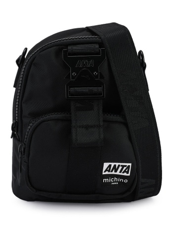 Anta black Anta Hook 2.0 Sling Bag 7E179ACFEB36D7GS_1