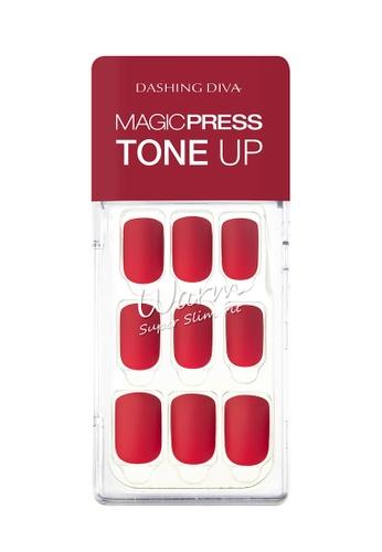 Dashing Diva red Dashing Diva 1 SEC. MAGIC PRESS Manicure Fair Red/ Press on Nails /Nail Tips AD4CFBE718FFC6GS_1