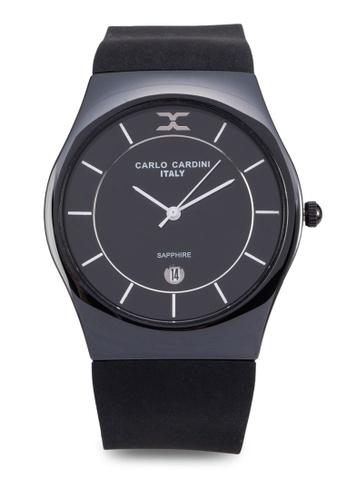 Carlo Cardini black Carlo Cardini Watch 4026LC-BLK-4 CA038AC89IZMMY_1
