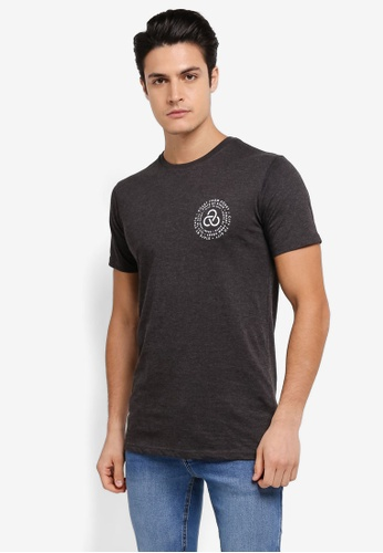 Factorie black Tagged Tee FA880AA0SKM7MY_1