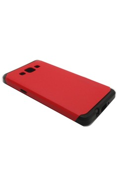 Sleek Shockproof Case for Samsung Galaxy A5 (Red)
