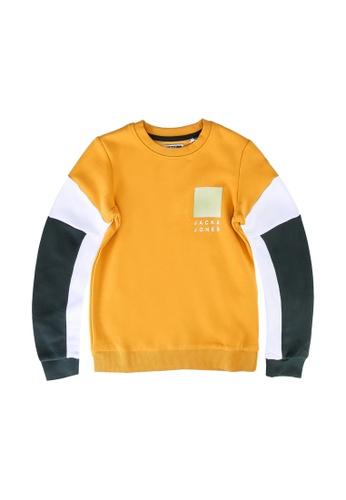 JACK & JONES orange Scott Sweater 2665FKAB77C0D3GS_1