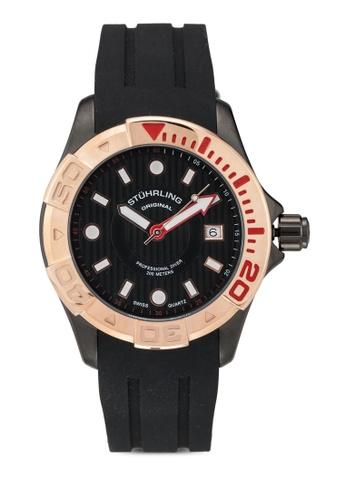 Stuhrling Original black Stuhrling Manta Ray 718.05 Watch E08F4AC6944060GS_1