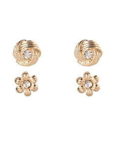 Liz Paris Earrings Set of 2