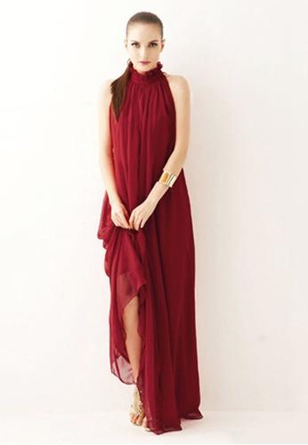 Twenty Eight Shoes red VANSA Chiffon Maxi Dress  VCW-D0183 E5C06AA0DDF12AGS_1