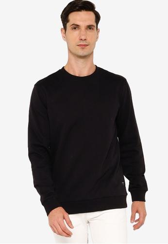 Only & Sons black Winston Crew Neck Sweatshirt 2EF0AAAA0740E8GS_1