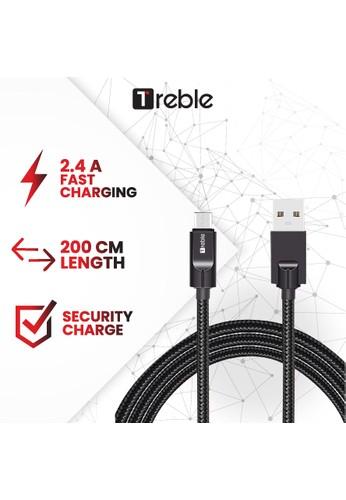 Joyseus Kabel data JY X TREBLE / Cable data Micro USB 200 CM Black - TKB10-M FE833ES2274CDFGS_1