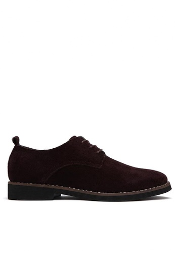 Twenty Eight Shoes brown Suede Oxford MC8801 1BFB7SH7D12BF6GS_1