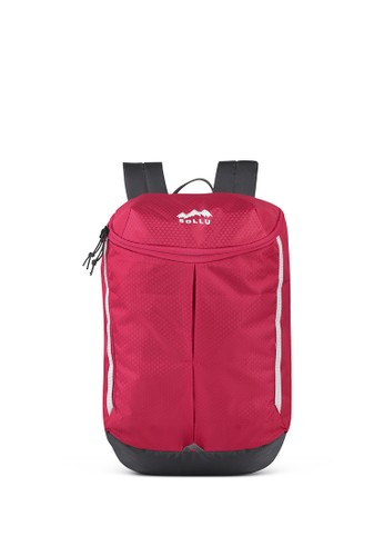 Sollu Bag's red Daily Compact Backpack, Sollu Tracker Series Red 54288AC4DDFAA3GS_1