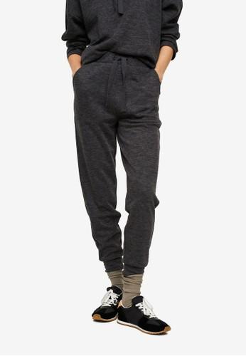 Mango grey Flecked Jogger Trousers 927F5AABD7FD85GS_1