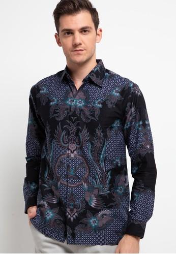 Rianty Batik black Kemeja Aurelio 8ABEFAA9076217GS_1