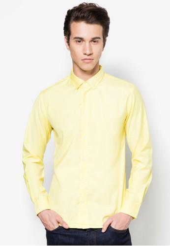 混棉長袖襯衫, 服飾, esprit 衣服服飾