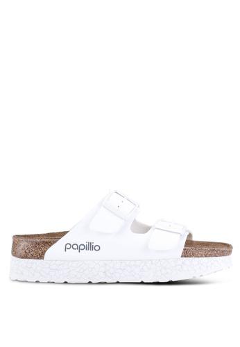 8d7d95a2323f Buy Birkenstock Arizona Platform Birko-Flor Sandals Online on ZALORA ...