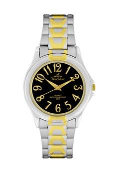 Unisilver TIME Men's Symphony Watch KW044 - 1305 Silver-Gold/Black