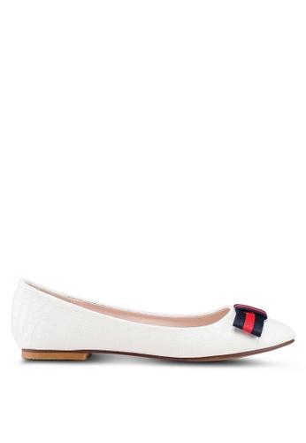 Carlton London 白色 尖形鞋頭 平底鞋 2A8F4SH2490736GS_1