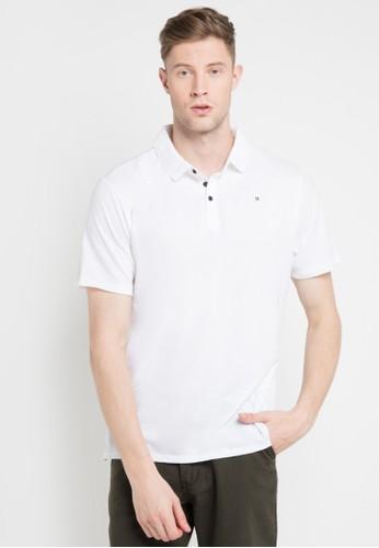 hurley white and multi Dri-Fit Lagos Polo Shirt 1DF08AA6BF9E4EGS_1