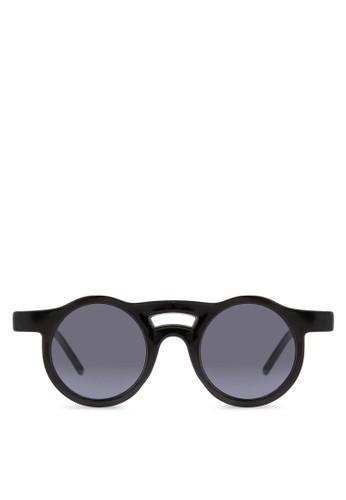 JOesprit鞋子RDAN 圓框太陽眼鏡, 飾品配件, 飾品配件
