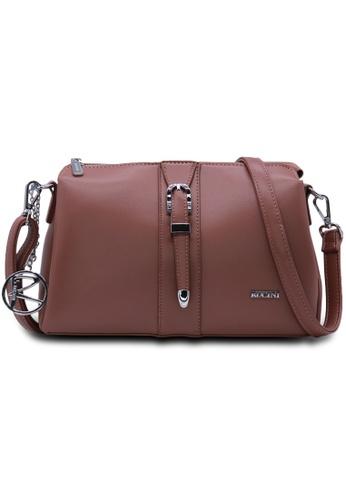 RUCINI pink RUCINI Loane Crossbody Sling Bag 5D9FDACD5A59DEGS_1