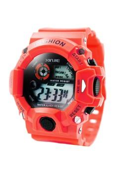 XINJIE Cedric Sports Men's Silicone Strap Watch XJ-929
