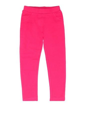 Babybol pink Casual Pants 0E709KAEEDD3F4GS_1