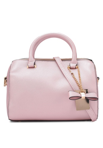 Velvet pink Small Tote Bag 12534ZZB3A551AGS_1