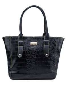 Faux Crocs Sleek Tote