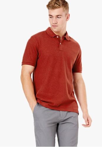 MARKS & SPENCER orange Pure Cotton Polo Shirt BBB1FAA41972BCGS_1