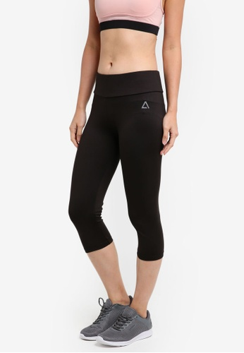 AVIVA black Capri Pants 0906CAA1670E4DGS_1