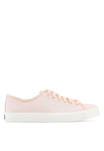 1b566837fe9c66 Buy Keds Kickstart Iridescent Canvas Sneakers Online on ZALORA Singapore
