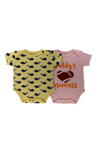 Mellow pink and yellow Mellow 2 Set Rompers DC130KADF32EA5GS_1